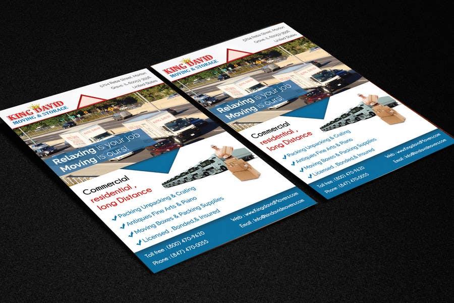 Design Business Cards u0026 Flyers for Moving Company : Freelancer