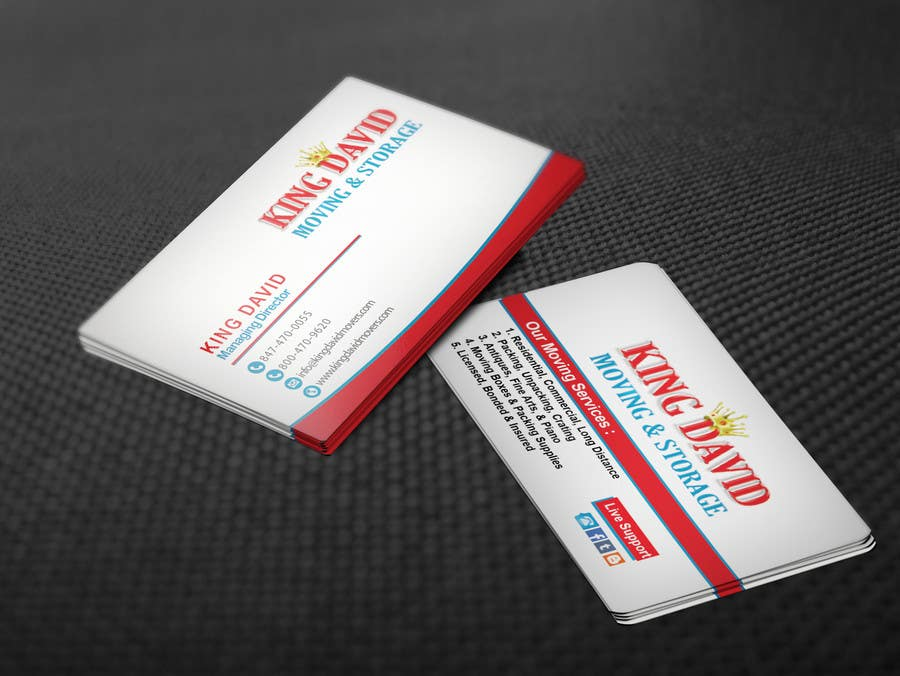 Contest Entry 41 For Design Business Cards Flyers Moving Company