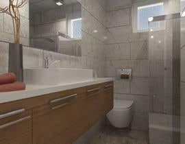 #8 for 3D model + interior design for bathrooms and bedrooms af projelutfu