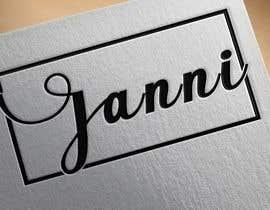 nº 85 pour Just a Logo named: Janni par SayeedBdz
