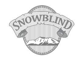 #75 for Design a Logo for Snowblind by Cristhian1986