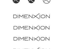 "#76 untuk Make me a nice logo for ""dimenxion"" oleh razvanferariu"