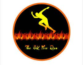 "#11 for Need a fake logo for the ""The 5K Fire Run"" where people race on hot coals and fire in their bare feet by Nillahmed"