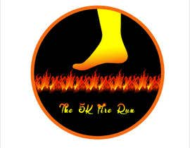 "#12 for Need a fake logo for the ""The 5K Fire Run"" where people race on hot coals and fire in their bare feet by Nillahmed"