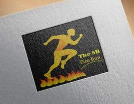 "#16 for Need a fake logo for the ""The 5K Fire Run"" where people race on hot coals and fire in their bare feet by Majedsho"