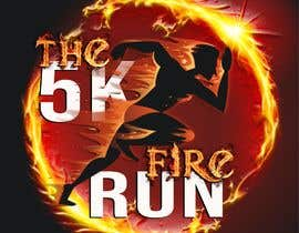 "#6 for Need a fake logo for the ""The 5K Fire Run"" where people race on hot coals and fire in their bare feet by emastojanovska"