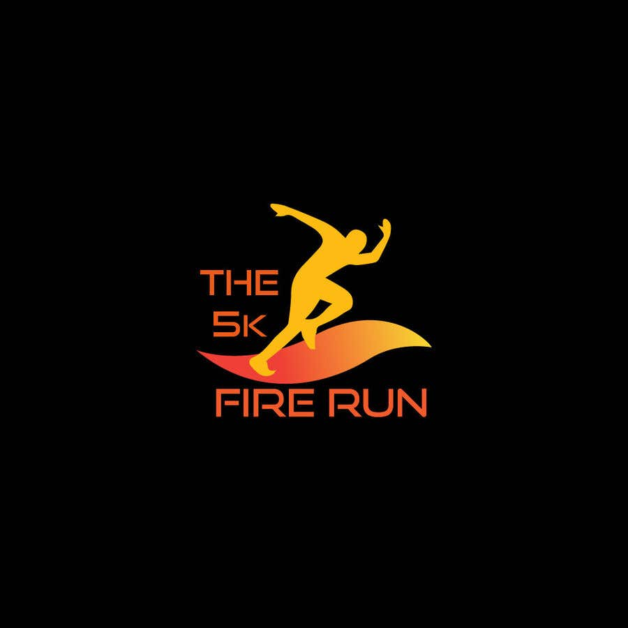 "Inscrição nº 19 do Concurso para Need a fake logo for the ""The 5K Fire Run"" where people race on hot coals and fire in their bare feet"