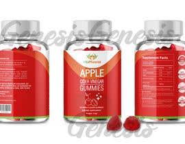 #24 para Create Attractive Label Design for Supplement Brand por geandreina9