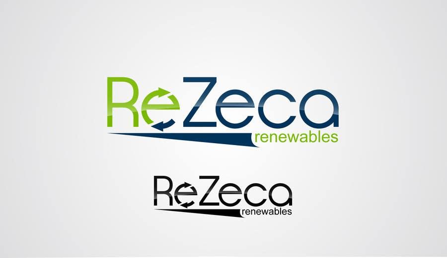Kilpailutyö #                                        24                                      kilpailussa                                         Logo Design for ReZeca Renewables