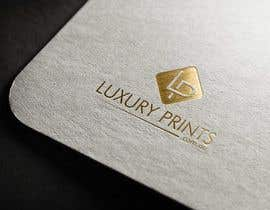 #204 para Luxury Prints Logo Design por FreehandLogo