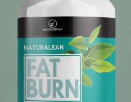 #27 for Fat Burner Supplement label by Yoowe