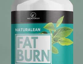 #27 para Fat Burner Supplement label por Yoowe