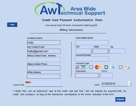 #15 для Redesign a Credit Card Auth Form от hafizmluqman4789
