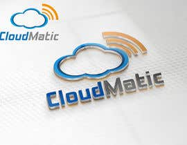 nº 57 pour Logo Design for CloudMatic par RONo0dle
