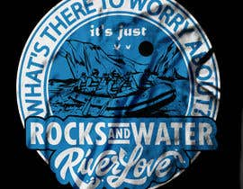 #18 untuk Whitewater style t-shirt design oleh voltes098
