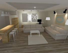 #31 untuk Design a prospectus of a living room oleh archiact