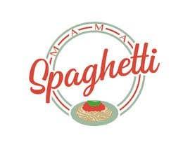 """Nro 28 kilpailuun Make me a logo for """"Mama Spaghetti"""" Restaurant/Cafe/Bar käyttäjältä aphcreators"""