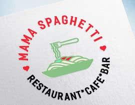 """Nro 25 kilpailuun Make me a logo for """"Mama Spaghetti"""" Restaurant/Cafe/Bar käyttäjältä jeewoo258"""