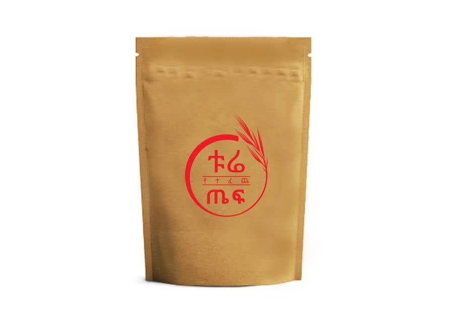 Penyertaan Peraduan #66 untuk Packaging for Teff flour.