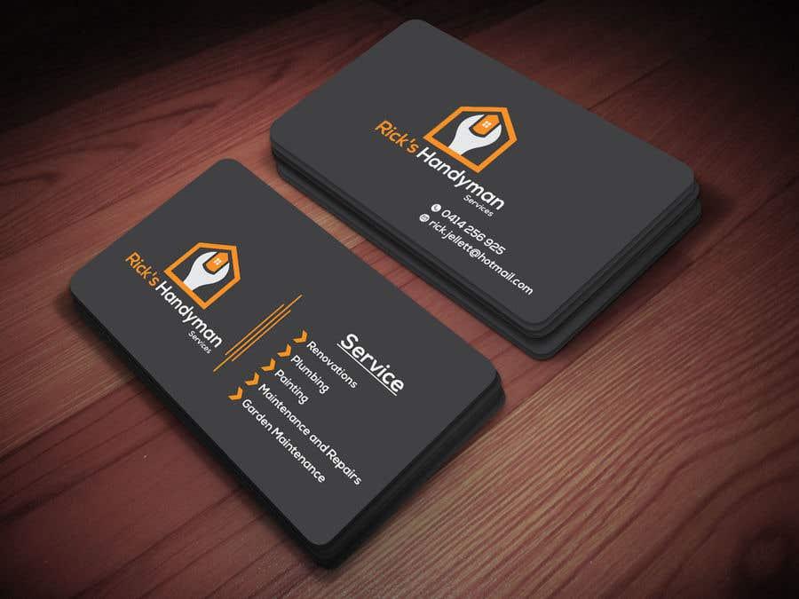 Kilpailutyö #127 kilpailussa Logo and business cards