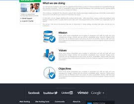 nº 78 pour Website Design for webhosting company par mughikrish