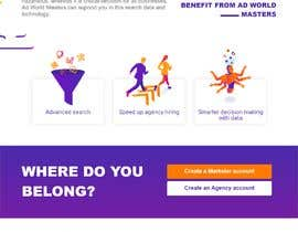 #14 for UX redesign of homepage into a 'landing page' by caelfernando