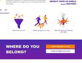 #14 para UX redesign of homepage into a 'landing page' por caelfernando