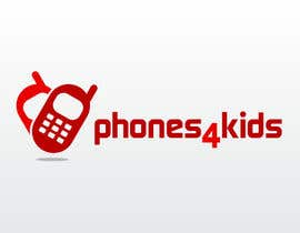Vick77님에 의한 Logo Design for Phones4Kids을(를) 위한 #67