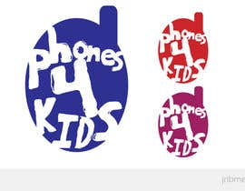 #48 dla Logo Design for Phones4Kids przez jnbmedia