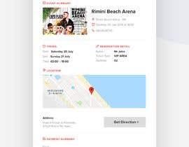 #66 untuk Template HTML email for ticket's order oleh adarshdk