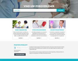 #20 untuk Design a homepage for zorgzoeken.nl (care seeker) oleh gravitygraphics7