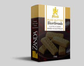 #19 for Design for a own branded shortbread biscuit box af SathyaGA