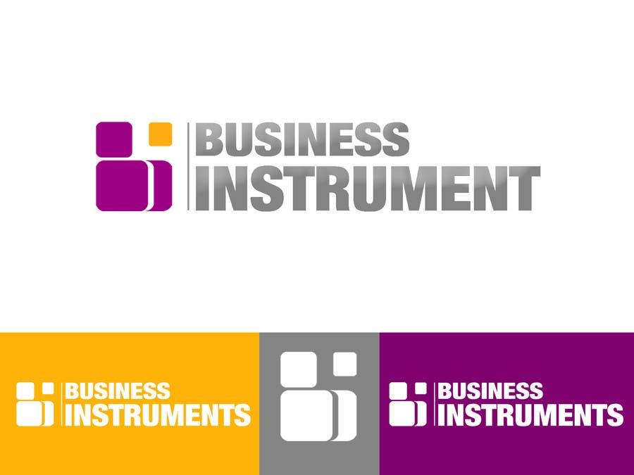Kilpailutyö #210 kilpailussa Logo Design for Business Instruments