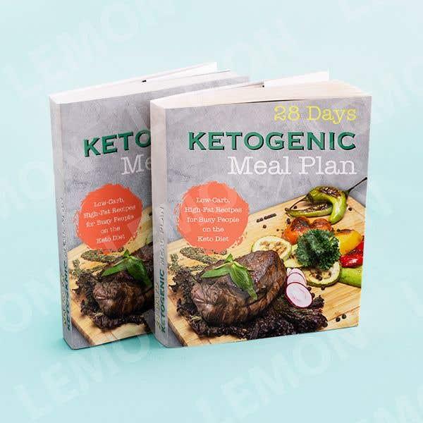 "Конкурсная заявка №19 для create an ebook cover design for my ""28 Day Ketogenic Meal Plan"" in 3D"
