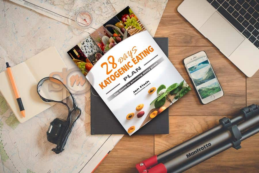 "Конкурсная заявка №15 для create an ebook cover design for my ""28 Day Ketogenic Meal Plan"" in 3D"