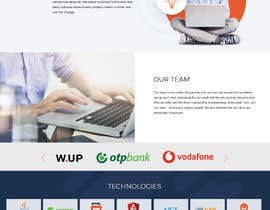 #17 untuk Simple IT website deisgn oleh zhoocka