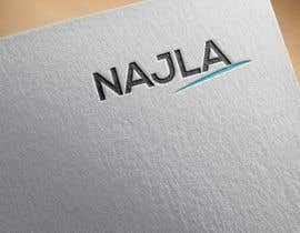 #57 untuk I need a logo for a name. NAJLA is the name, you can also use the initials NBK. oleh farukkh79