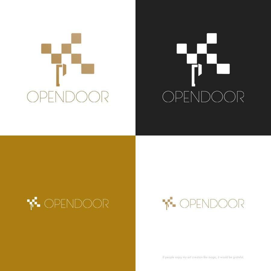 Kilpailutyö #41 kilpailussa logo ( open door   Engineering and Contracting)