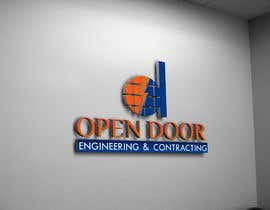 #20 for logo ( open door   Engineering and Contracting) by UMUSAB