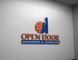 Nro 20 kilpailuun logo ( open door   Engineering and Contracting) käyttäjältä UMUSAB