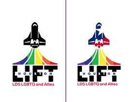 Nro 7 kilpailuun Create me a logo for an LGBTQ support group käyttäjältä JunrayFreelancer