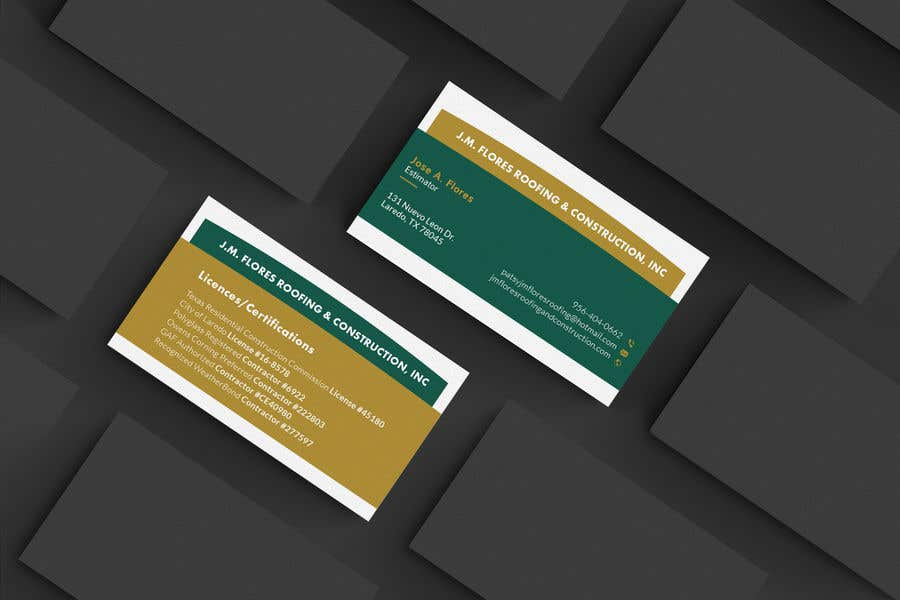 Contest Entry #313 for Graphic Design Business Card - Vertical or Horizontal Samples