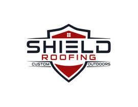 nº 69 pour Shield Roofing Logo par sojibdesigner8