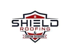 nº 126 pour Shield Roofing Logo par nayangazi987
