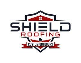 nº 146 pour Shield Roofing Logo par Ripon8606