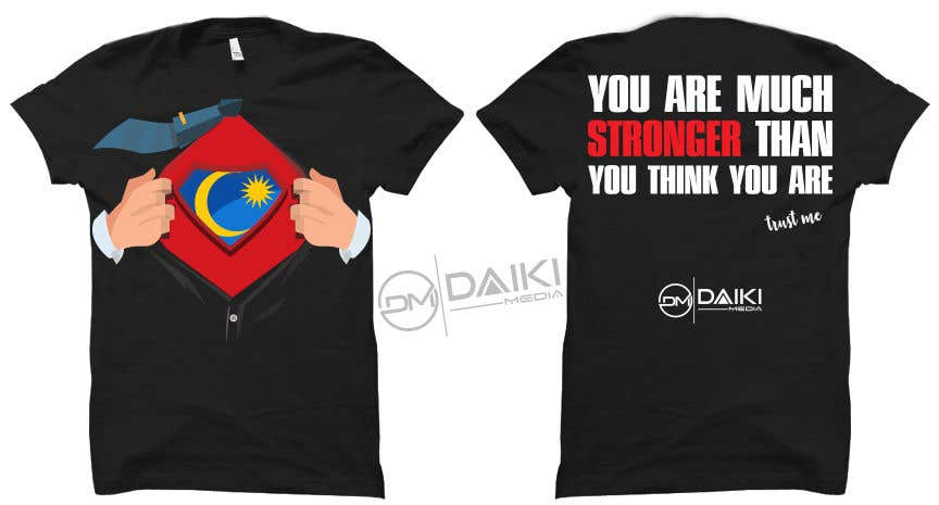 Proposition n°126 du concours Creative Round Neck Design T-shirt to sell ( Malaysian )