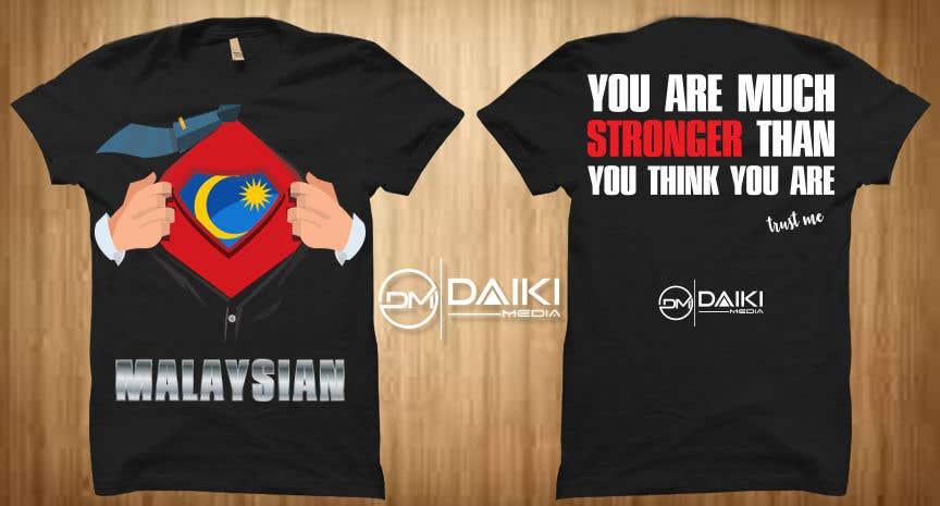 Kilpailutyö #137 kilpailussa Creative Round Neck Design T-shirt to sell ( Malaysian )