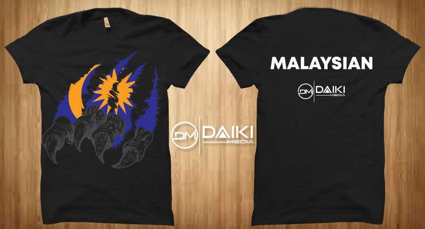 Kilpailutyö #179 kilpailussa Creative Round Neck Design T-shirt to sell ( Malaysian )