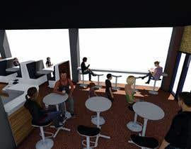 #3 for Internet Cafe Baccarat Game Online Interior & Exterior 3D Rendering Design by arqjose8
