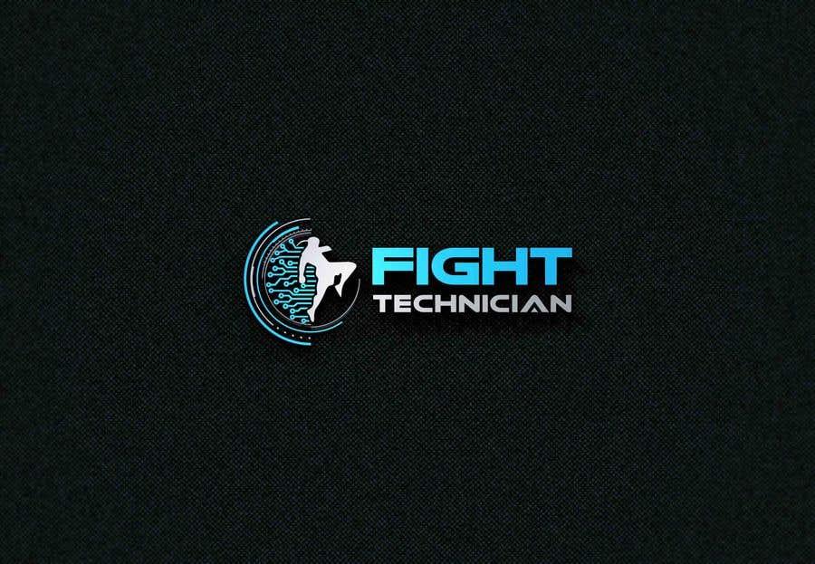 Penyertaan Peraduan #206 untuk Tech Themed Fight Blog Logo Design